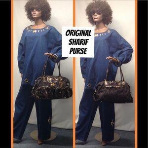 NEW Sharif Denim Bag